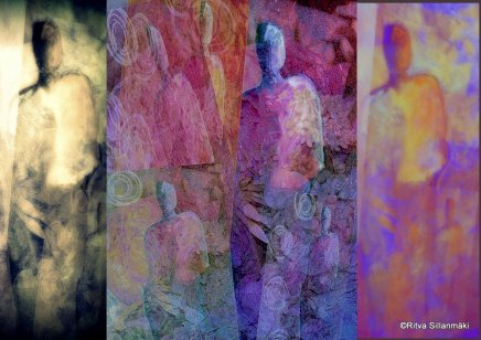 3-THREE MUSES , COLLAGE OBSESSION