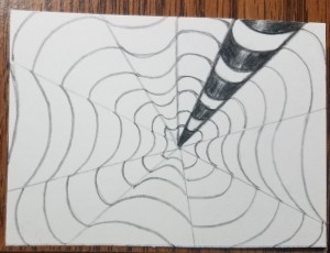 How-to-Draw-Op-Art-Bullseye-Add-Color