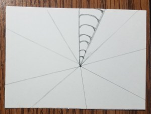 How-to-Draw-Op-Art-Bullseye-Section-One