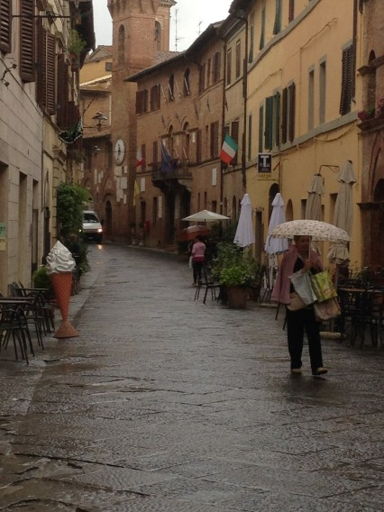 Rain in Buonconvento