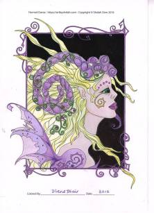Horned Dorea - Colored by Diane Blair