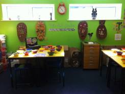 African Mask display