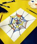 spider art project