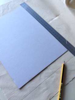 How to make a canvas board