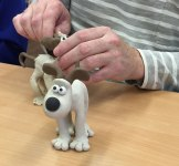 Gromit model making day
