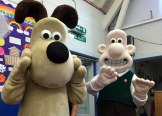 Wallace & Gromit model making day
