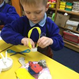 Plasticine models inspired by the book 'Dirty Beasts' by Roald Dahl and illustrated by Quentin Blake