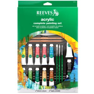 reeves acrylic complete set