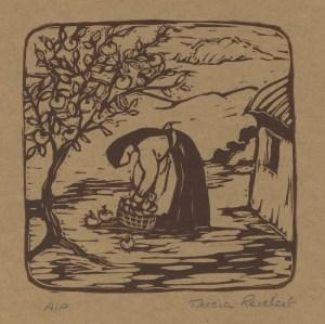 Tricia Apple Harvest(6x6)Rubberblocksm