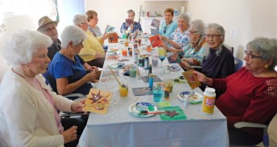 leaf painting class