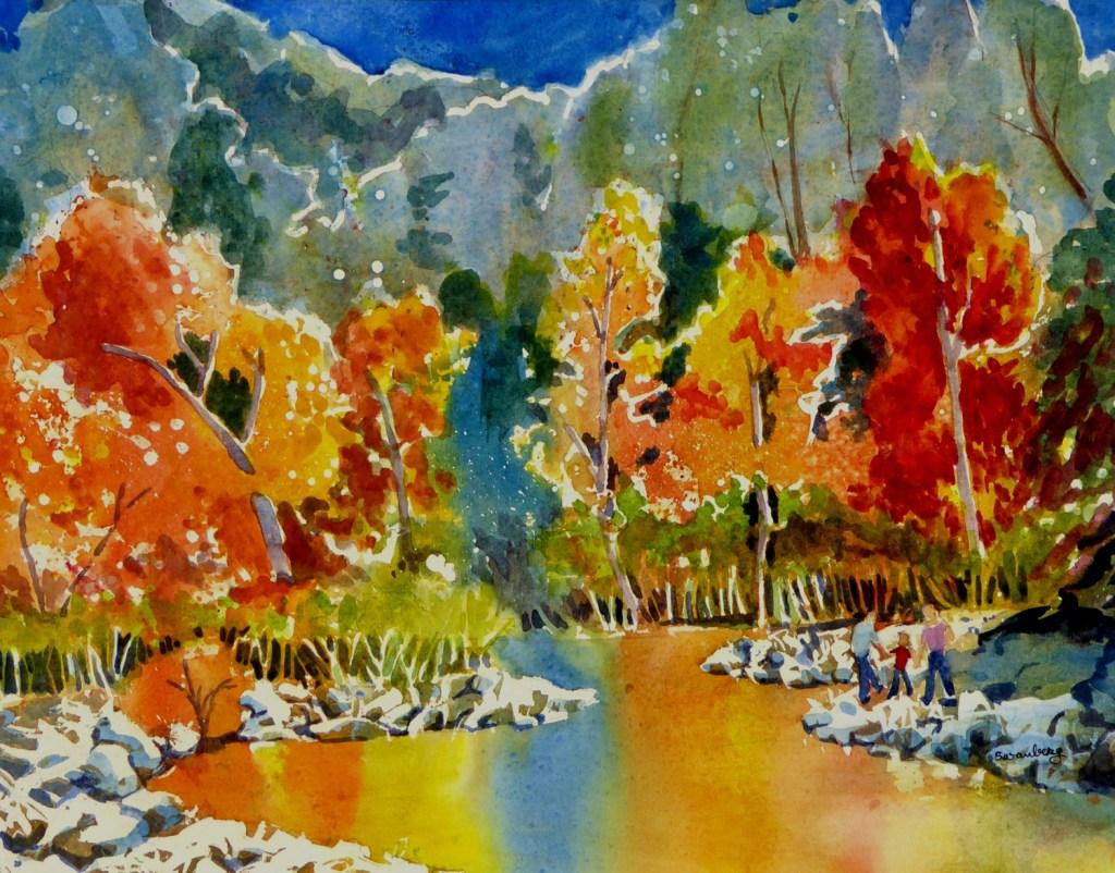 "Ardella Swanberg ""Autumn On The Nacimiento"""