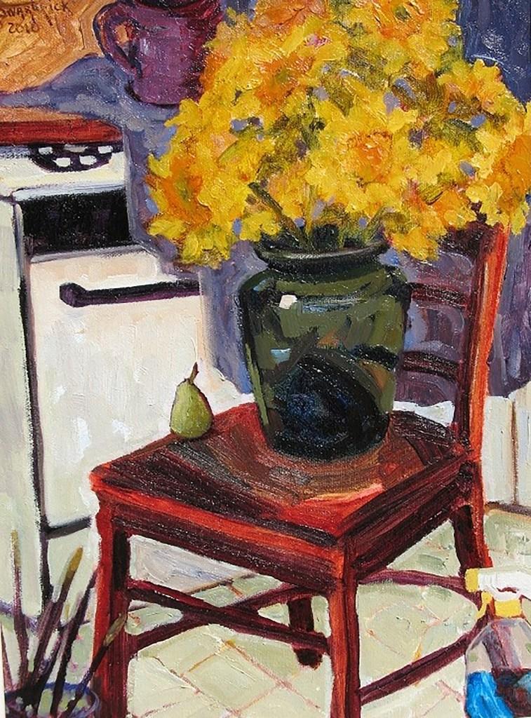 "Jan Swarbrick ""Her Studio"""