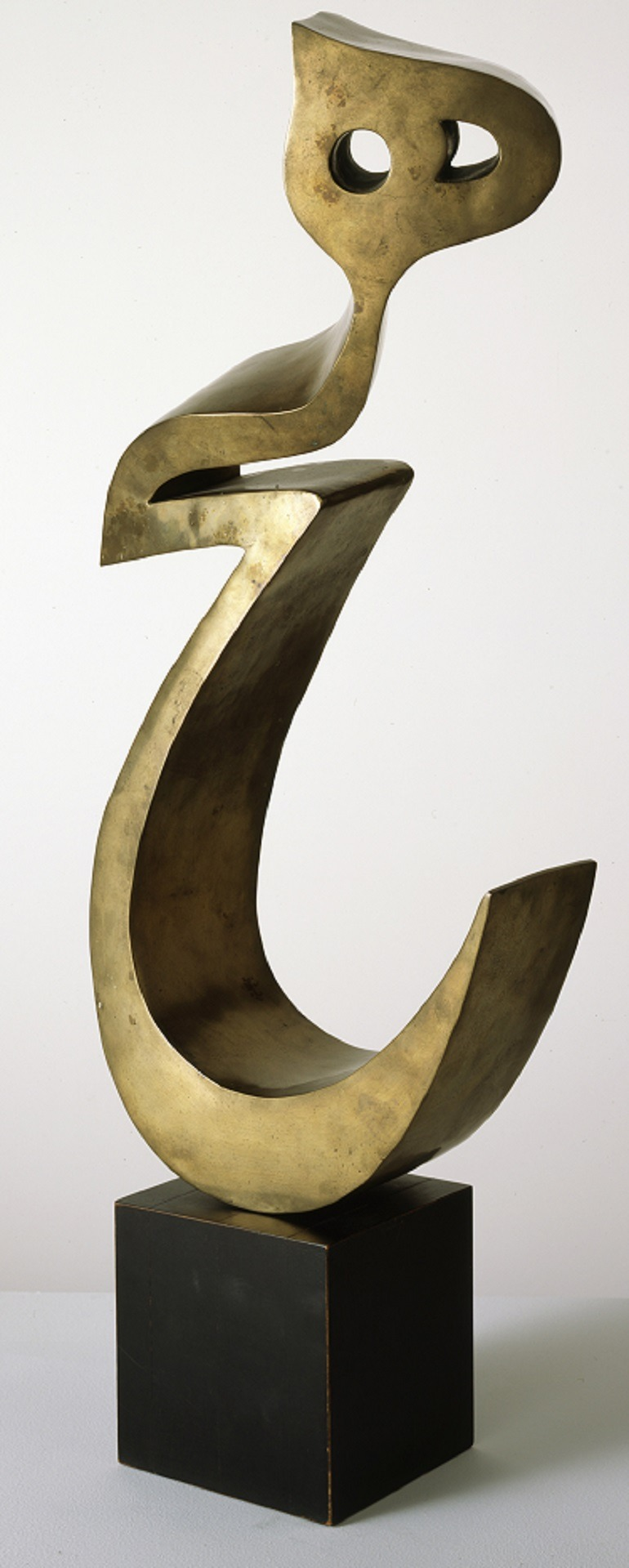 Image: Bronze sculpture by Parviz Tanavoli is in the Grey Art Gallery, New York University Art Collection. It was part of the Iran Modern show in New York