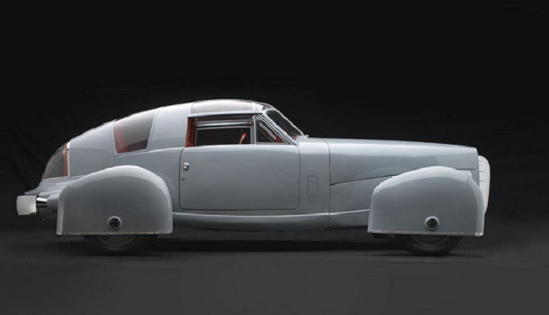 Image of Tasco, 1948, Gordon M. Buehrig - designer Derham Body Company, American, 1887-1971 is one the  designer cars