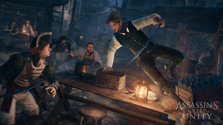 'Assassin's Creed Unity ' Gameplay Intrigues Darkens Paris