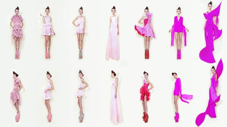 Fashion Designer Long Tran Turns Fashion to Avant Garde Art
