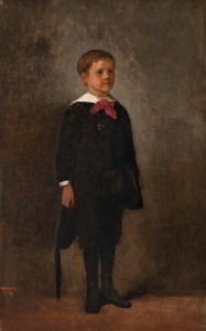 Image: Portrait of Charles Prentice Howland , an oil on canvas painting by artist Winslow Homer