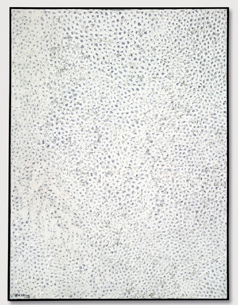 Image: Yayoi Kusama, White No. 28 (1960) combines different shades of white to achieve a kinetic movement . Example of an exceptional piece by one of the top female artists- News