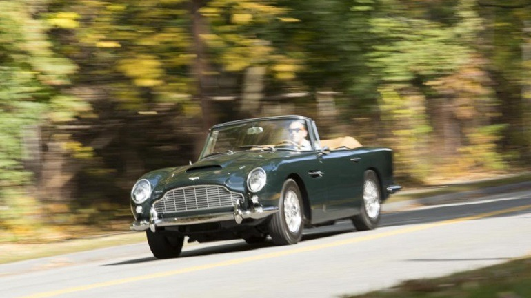 Marque Aston Martin Convertible Sets World Record at Paris Auction