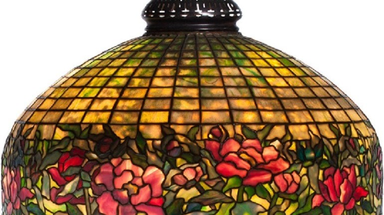 Tiffany Studio Lamps Illuminate Heritage Auctions Art Sale