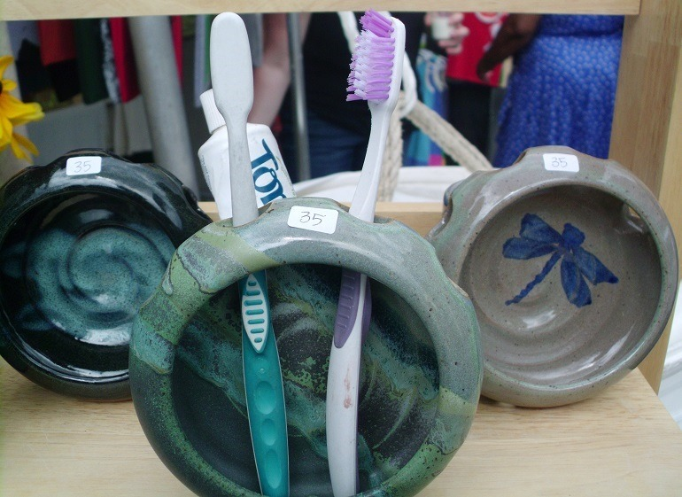 Image: Ceramics on display at the Artscape festival grabbed the attention of art fans-News