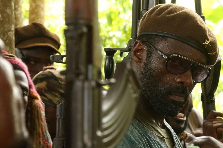 Image: Idris Elba as Commandant in Beasts of No nation
