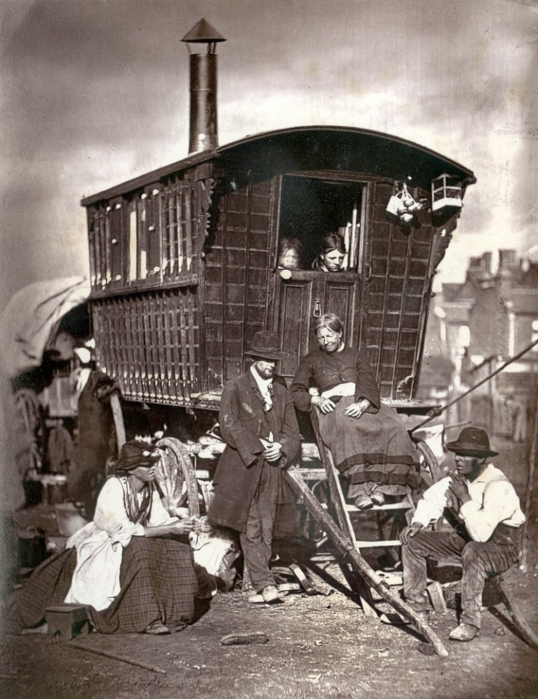 Image: London Nomades, a photograph by John Thomson. From 'Street Life in London', 1877, by John Thomson and Adolphe