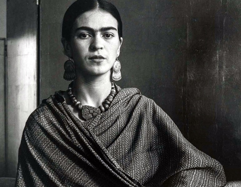 Image: Imogen Cunningham's photograph of Frida Kahlo Rivera, Painter and Wife of Diego Rivera is one of the images examining modern art history at the Museum of Fine Arts, Boston