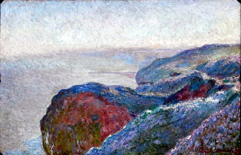 Image: Au Val Saint-Nicolas près Dieppe by Claude Monet is one of the most expensive vintage collectibles and antiques from M.S. Rau Antiques. Oil on canvas 25 7/8 by 39 1/2 in
