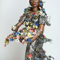 Image: Primavera by Sokari Douglas Camp on display at 1:54 Contemporary African Art in London