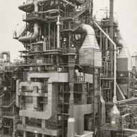 Image: Chemische Fabrik Wesseling Bei Köln, Germany by Bernd and Hilla Becher, one of the photographs sold at Bonhams photography auction