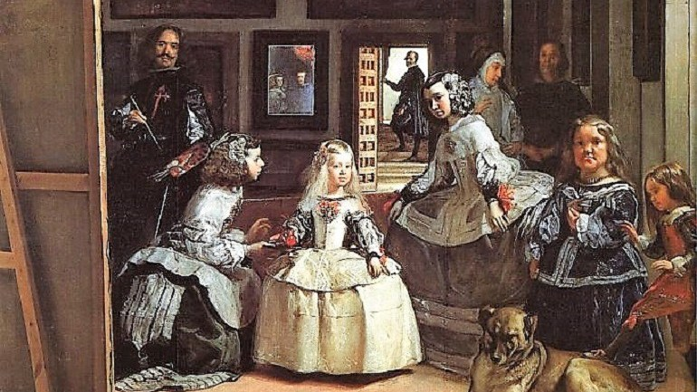Banksy Takes on Velazquez's 'Las Meninas' in Spain