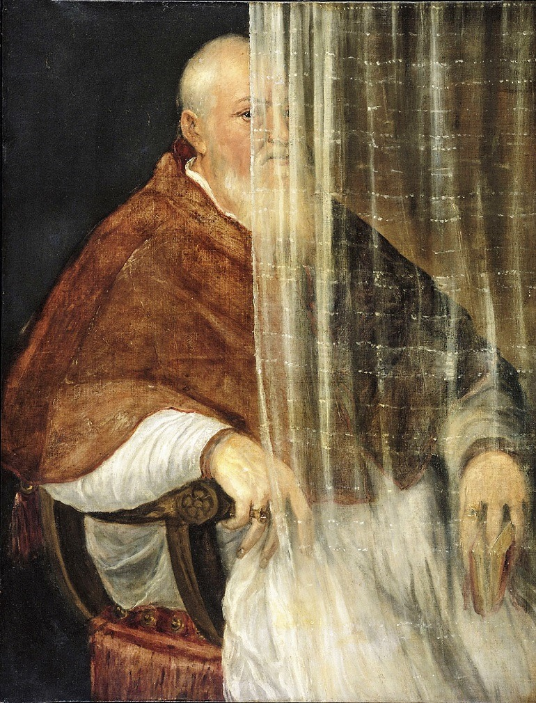 Image: Portrait of Archbishop Filippo Archinto, an oil on canvas painting by the Italian artist Titian is one of the major highlights of Old Masters Now: Celebrating the Johnson Collection, at the Philadelphia Museum of Art