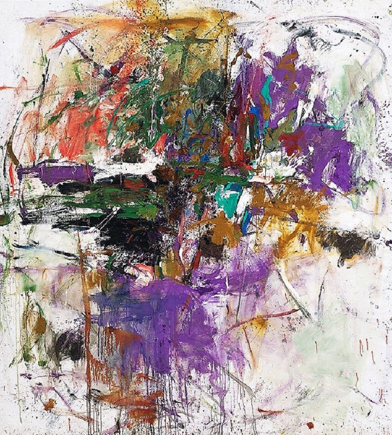 Image: Untitled, a 1961 oil on canvas painting by Joan Mitchell. one of the artists whose works will be part of the fall art exhibitions at the Musée National Des Beaux-Arts Du Québec