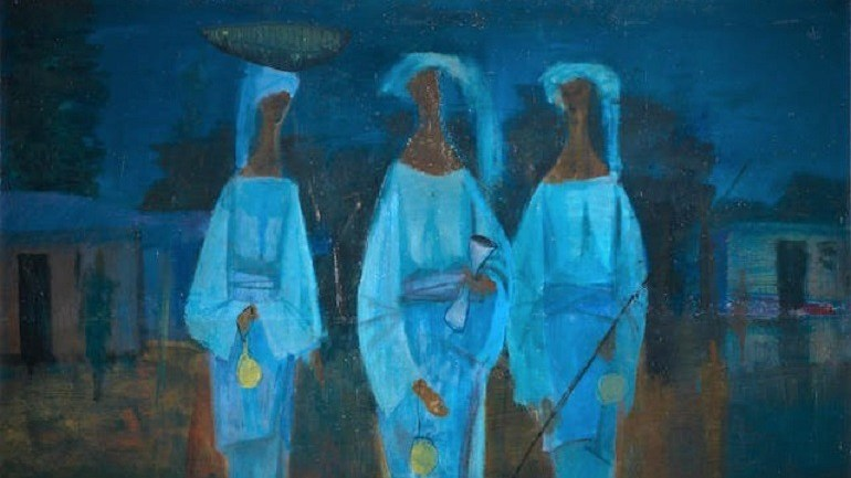 Nigerian Artists Dominate Bonhams Africa Now Auction