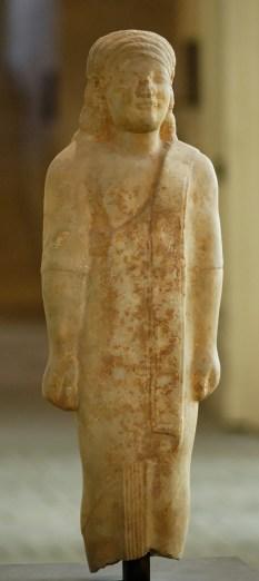 Couros de Dionysermos, Ionie, v.530 BC, 69 cm, marbre, Louvre (© Jastrow)