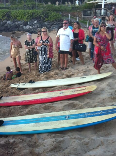 sea burial - surfboards are ready