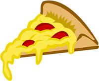 reheat pizza - pizza slice