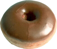 diabetes Chocolate Cake Donut Print Shop 200px