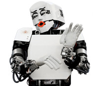 robots imitating people