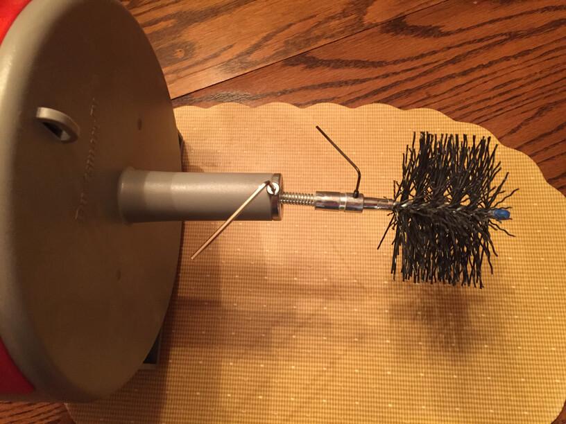Lint - Ductsmart brush installation