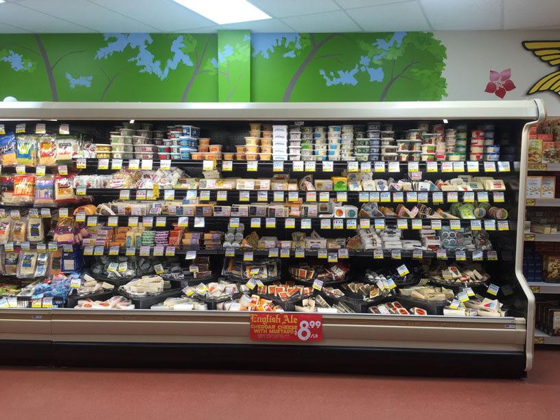 Trader Joe's has many no-hormone cheeses