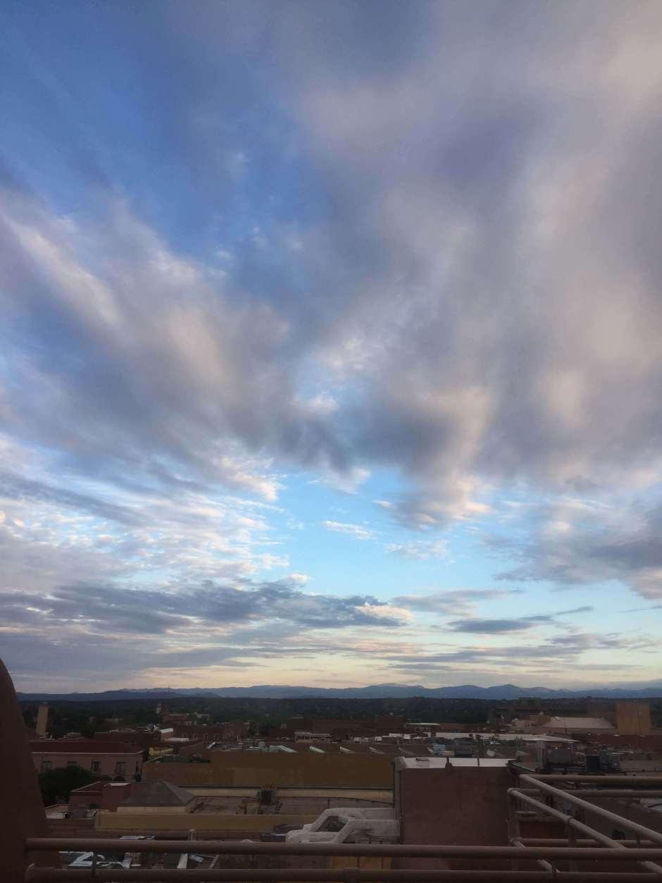 Santa Fe art in the sky