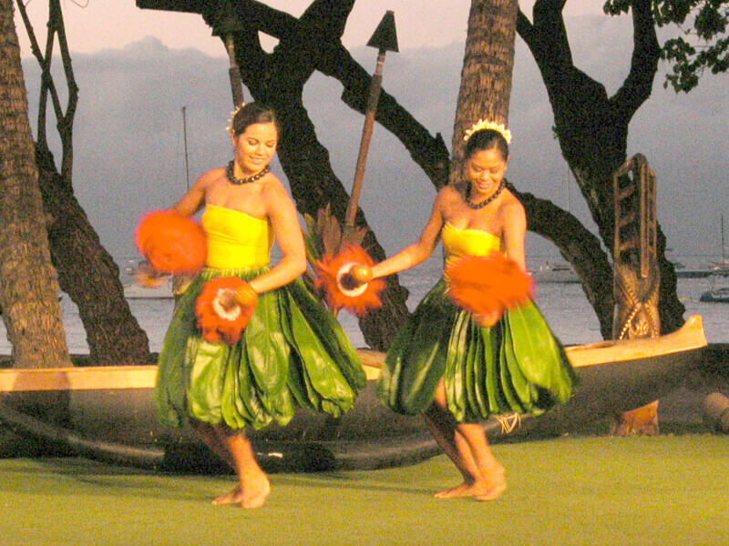 Maui Vacation Luau Dancers
