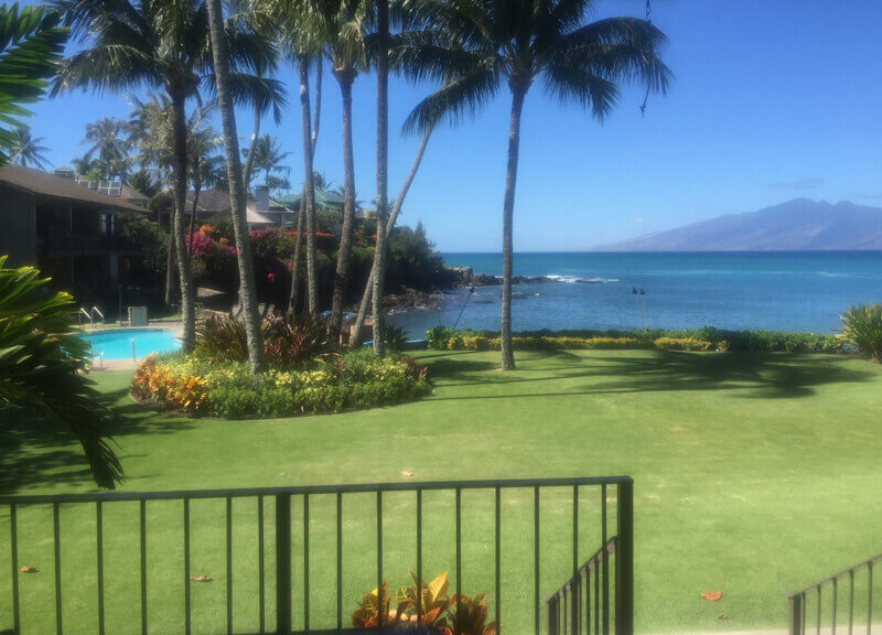 Maui Vacation View from 114 Honokeana Cove