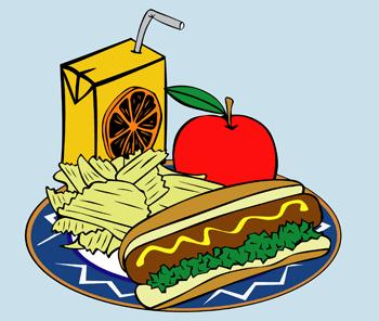 healthy food - plate of food