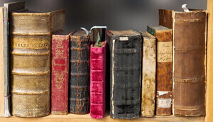 Downsize now: old books