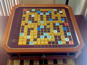 Franklin Mint Scrabble for 3 To Make 4 List