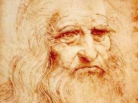 ArtC; дупу! Студія живопису і Леонардо да Вінчі Автопортрет