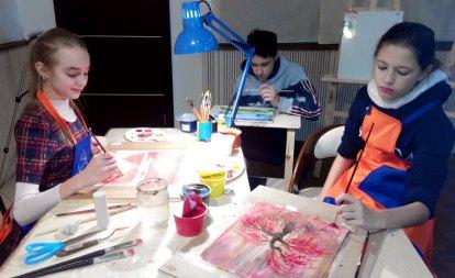 Уроки малювання для дітей в Києві в студії ArtClass
